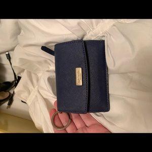Kate spade card holder/ keychain / wallet